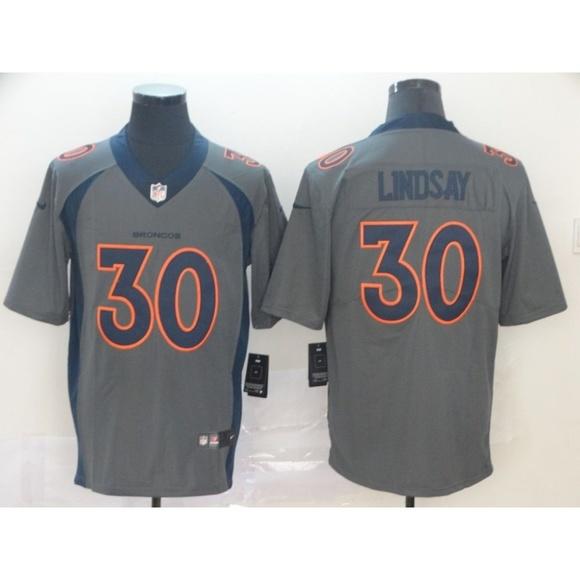 wholesale dealer 8af8a 67cf1 Denver Broncos Phillip Lindsay Jersey